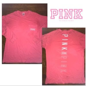 Pink Victoria's Secret sweatshirt